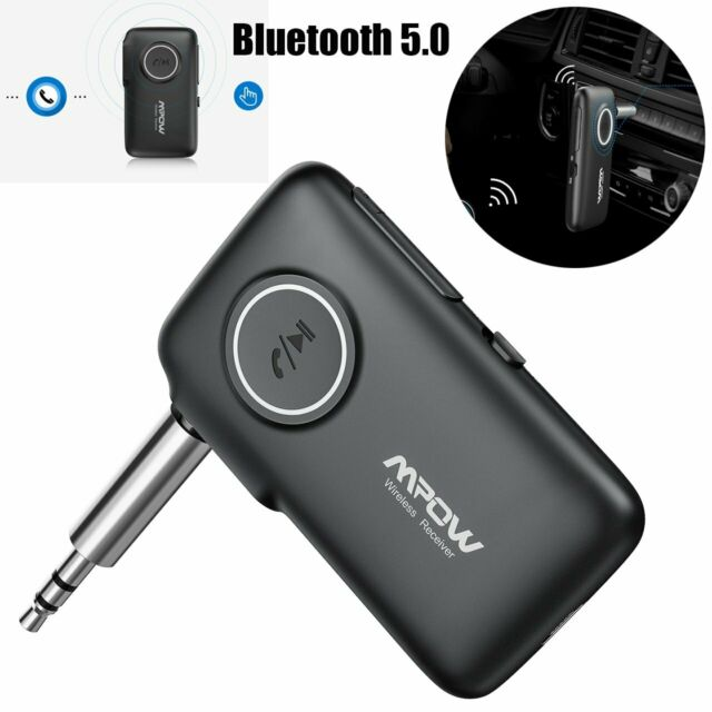 Mpow Wireless Bluetooth V5 0 3 5mm AUX Audio Stereo Music Car Receiver  Adapter
