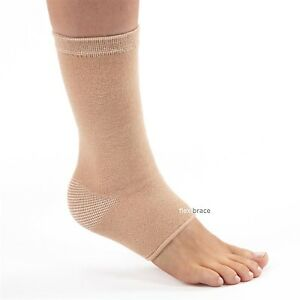 2-Ankle-Brace-Support-Elastic-Tendonitis-Compression-Wrap-Sleeve-By-Flexibrace