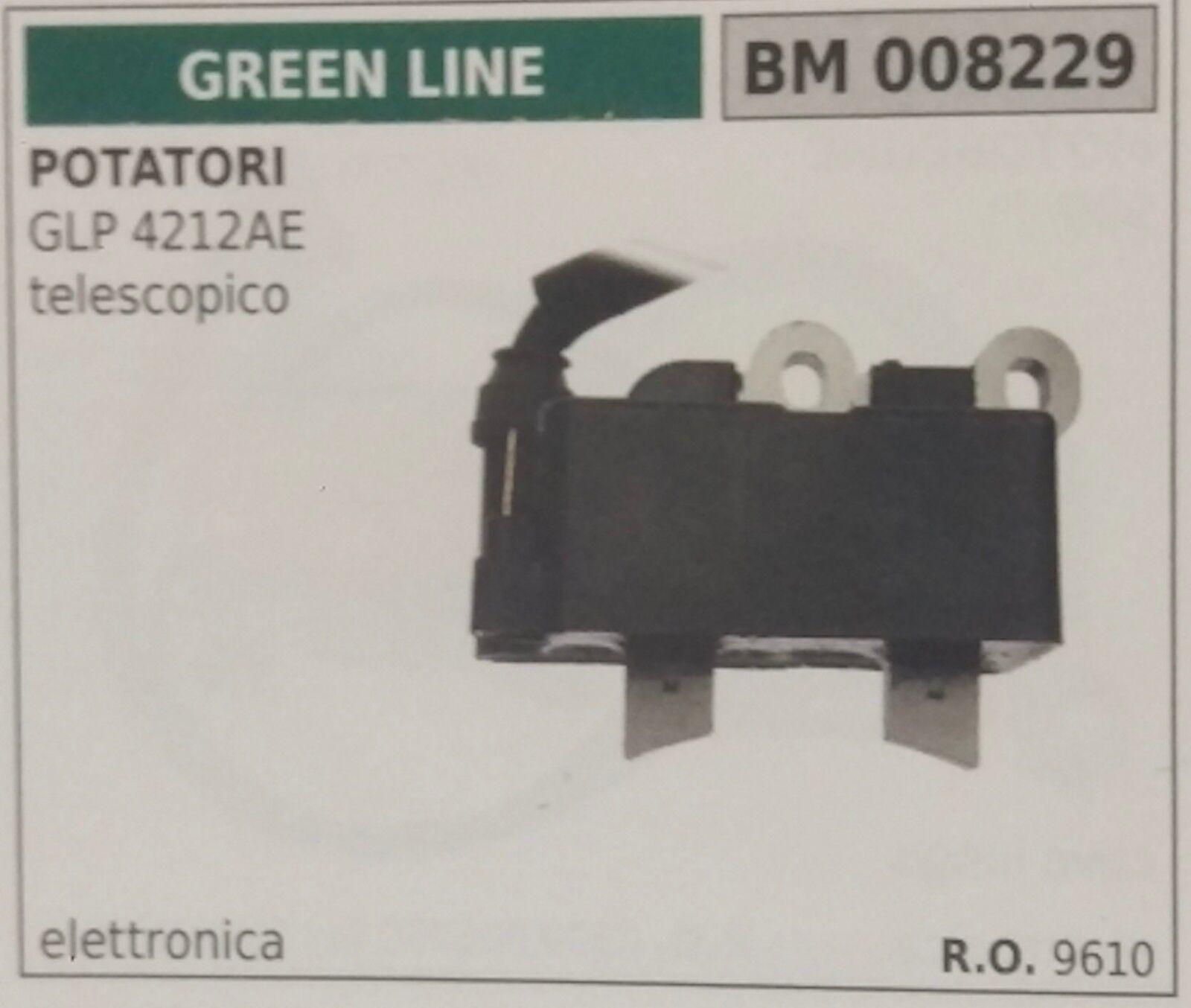 9610 BOBINA ELETTRONICA POTATORE potatrice verde LINE GLP 4212AE TELESCOPICO