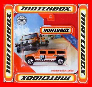Matchbox-2019-langosta-h2-SUV-concept-89-100-neu-amp-ovp