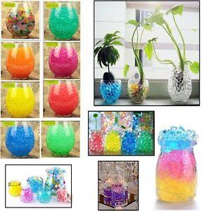 2-Packs-Water-Beads-Aqua-Soil-Bio-Gel-Crystal-Vase-Filler-Wedding-Party-Decor-UK