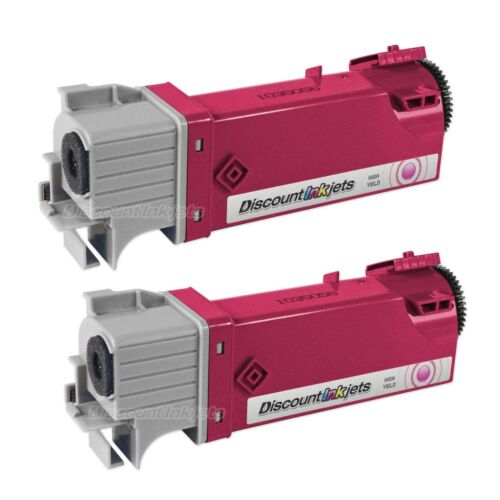 2PK Magenta Laser Toner Cartridge for Dell 1320 1320c KU055 3109064 CT200946