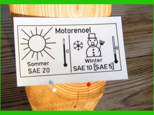 Motoröl  Sommer Winter 2x UNIMOG 406 411 421 U1000-2450 Mercedes o31