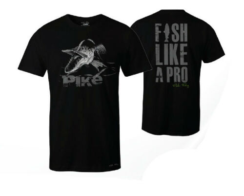 Fladen Angry Skeleton Pike T-Shirt Fishing Clothing