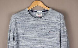 TOMMY-HILFIGER-Men-Casual-Knit-Jumper-Sweater-Size-L-ATZ676