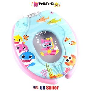 Baby Shark Pinkfong Toilet Seat With Built In Kids Potty