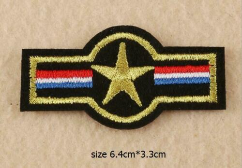Patch Thermo Fer Brodé Insignes Armée Design DIY Accessoires Styles
