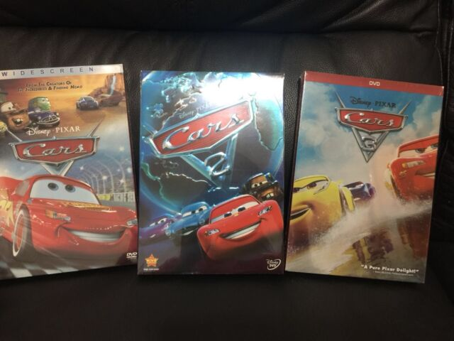 cars 1 cars 2 cars 3 disney pixar dvd bundle set trilogy ebay. Black Bedroom Furniture Sets. Home Design Ideas