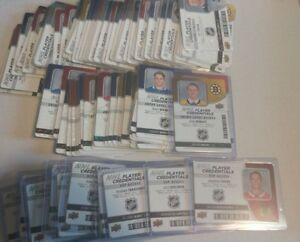 2018-19-UD-MVP-NHL-Player-Credentials-Access-Level-1-Entry-VIP-UPick-List-Lot