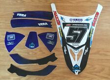 NEW! TEAM YAMAHA RACING GRAPHIC KIT DECAL YFZ450R YFZ 450R PABLO VERA #57 MAXXIS