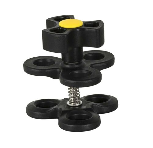 "Triple Clamp Underwater Housing Arm System for 1/"" Ball 2,5 cm FLEX-ARM 605.T3YW"