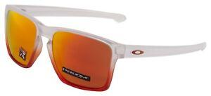 Oakley-Sliver-XL-Sunglasses-OO9341-2757-Ruby-Mist-Prizm-Ruby-Lens-BNIB