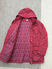 VTG CP COMPANY RED SHIMMER FIELD JACKET SIZE XL 50 COAT STONE ISLAND C.P. GOGGLE