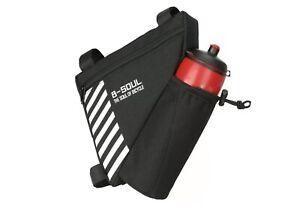 Bicycle Bike Frame Bag B-soul Storage Triangle Saddle Adjustable Tool Pouch