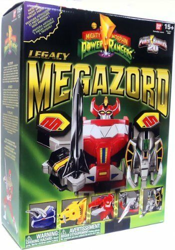 Mighty Morphin Power Rangers  Legacy Megazord 20th Anniversary Figure Figure Figure 2a0dcc