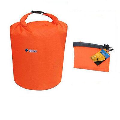 70L Water Resistant Waterproof Dry Bag Orange for Canoe Kayak Rafting Camping