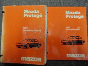 1997 Mazda Protege Service Repair Shop Manual SET OEM W ...