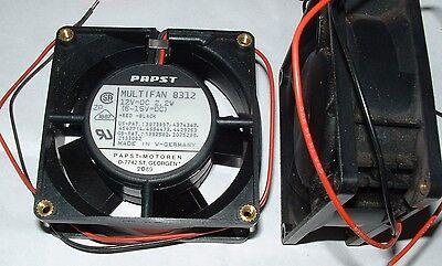 10 x Papst Multifan 8312 80mm 12v DC 12 volt  8cm fan