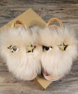 UGG Girls Toddler Size 13 Fluffy Punki