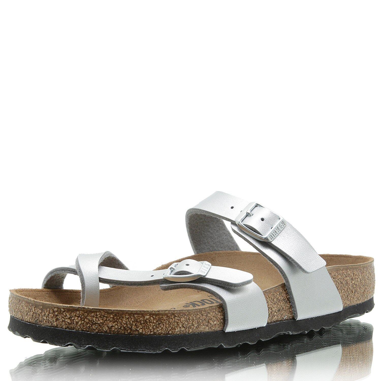 BIRKENSTOCK Mayari BF silber Günstige und gute Schuhe