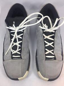 038 Air Noir Nike Sport 395468 Taille Hommes 5 Nous Chaussures Jordan Et 10 Gris De vR4FdR
