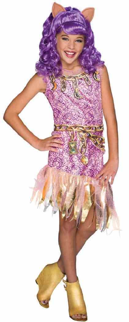 Monster High - Clawdeen Wolf Haunted Doll Fancy Dress Up Halloween Child Costume