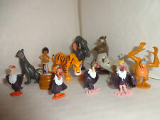 DISNEYS JUNGLE BOOK CAKE TOPPERS 12 PLASTIC FIGURES AND A FREE GIFT BRAND NEW