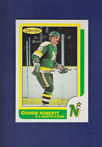 Gordie-Roberts-1986-87-O-PEE-CHEE-Hockey-42-MINT-Minnesota-North-Stars