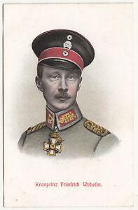 Litho-Ak-Kronprinz-Friedrich-Wilhelm-1-Wk-WW1-A2655
