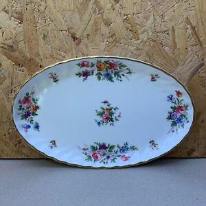 Vintage-Minton-Marlow-Oval-Dish-Trinket-Plate