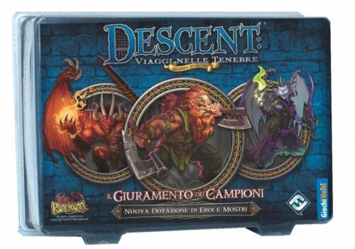 Giochi Uniti Descent 2A Edizione Il Giuramento Dei Campioni Merchandising