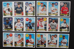 2018-Topps-Heritage-High-Number-Bazooka-1969-Panel-Baseball-Cards-Pick-From-List