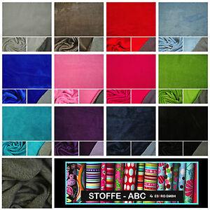 Stoffe Färben alpenfleece melliert doubleface alpen fleece stoff stoffe baumwolle
