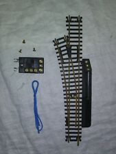 HO SCALE TRAINS ROCO 3 WAY BRASS REMOTE TURNOUT SWITCH TRACK NEW
