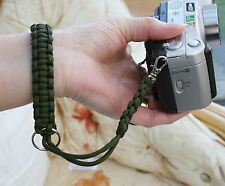 Camera/Binocular wrist strap in paracord (other colours also)