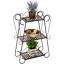 Plant-Stand-Garden-Display-Indoor-Outdoor-Metal-Flower-Rack-Shelf-Wrought-Iron thumbnail 1