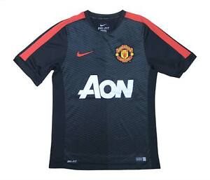 Manchester United 2010-11 Authentic Training Shirt (eccellente) S Soccer Jersey