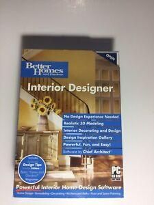 Better Homes And Garden Interior Design Old Version Software Ebay
