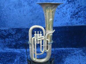 DéVoué ... Le Régent Par Ohio Band Instrument Co. 3 Valve Euphonium Ser#9073 Nice Sound **-afficher Le Titre D'origine