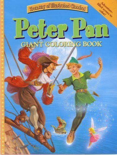 Peter Pan Giant Coloring Book Treasury of Illustrated Classics   eBay