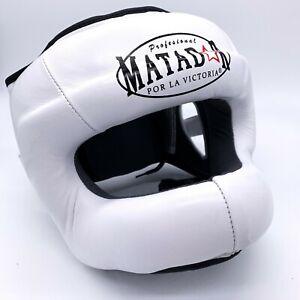Casco Matador - mod. Parazigomi e Facebar per Pugilato Muay Thai Kick Boxing mma