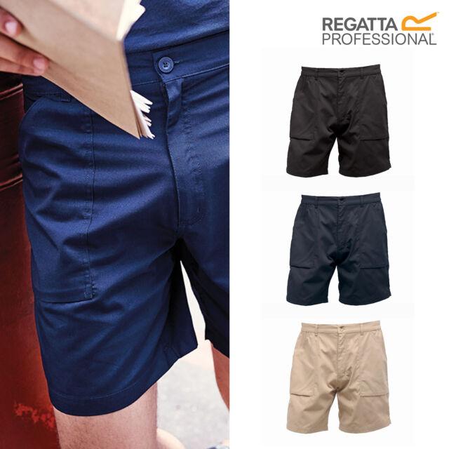 Workwear Water-Repellent Pants Details about  /Regatta Professional Men/'s Action Shorts TRJ332