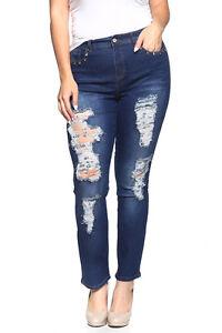 NWT Dk.Indigo Stretch Denim Skinny Jeans Style#15981X PLUS size 14 to 22