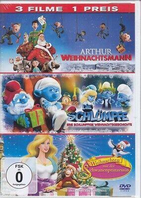 Arthur Weihnachtsmann Schlumpfe Weihnachtsgeschichte Schwanenprinzessin Dvd Ebay