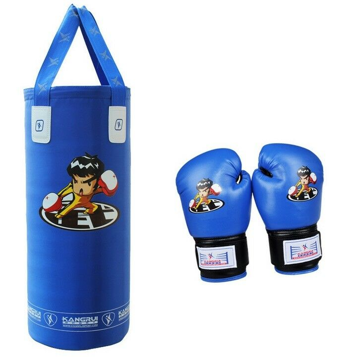 Kids Teenager Boxing Free Combat  G s  Punch Bag bluee g s bluee punch bag  wholesale cheap