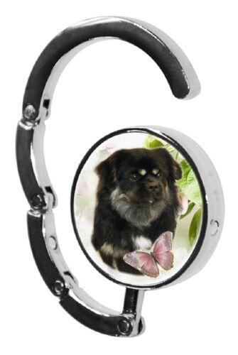 Tibetan Spaniel Dog Table Bag Handbag Purse Hanger Hook-4 by paws2print