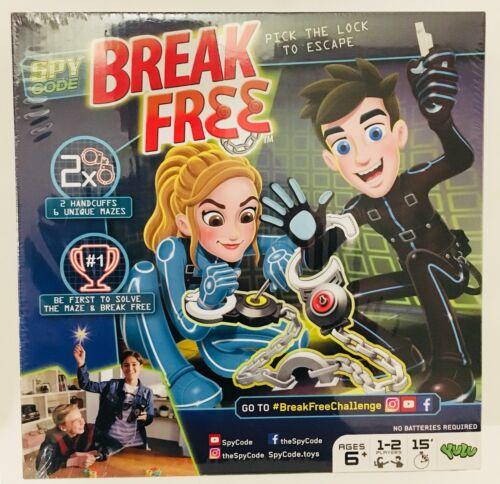 SPY CODE BREAK FREE YULU Handcuff BOARD GAME BRAND NEW SEALED 2-4 PLAYERS Age 6+