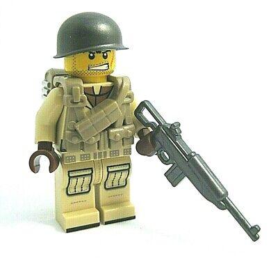 Lego Custom WW2 USA PARATROOPER Minifigure Brickforge Weapons Army Military