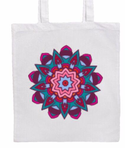 Boho//Hippy//Chic MANDALA Design Shopping//Tote//Shoulder Bag