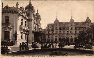CPA-Monaco-Monte-Carlo-Le-Casino-et-l-039-Hotel-de-Paris-477166